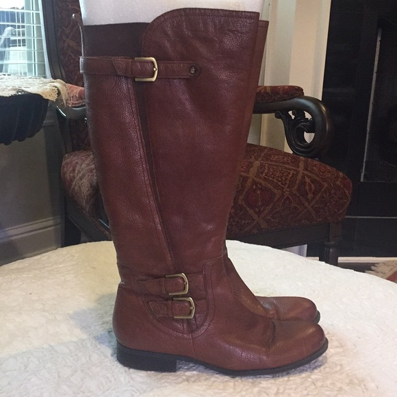 0ccc23f70a8 Naturalizer Leather Johanna Riding Boots